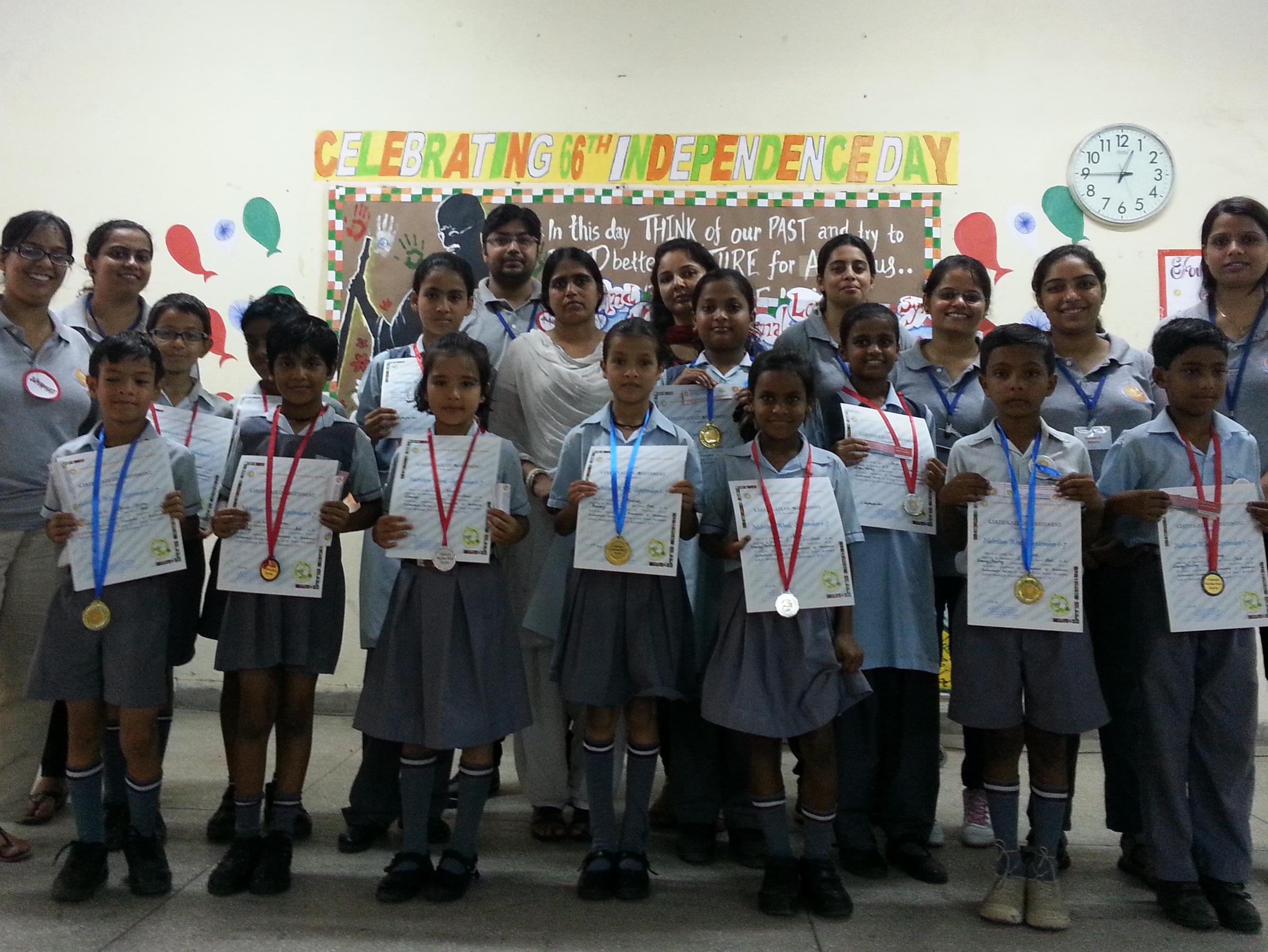 Nutrition Week Celebration, Navyug School, Motibagh
