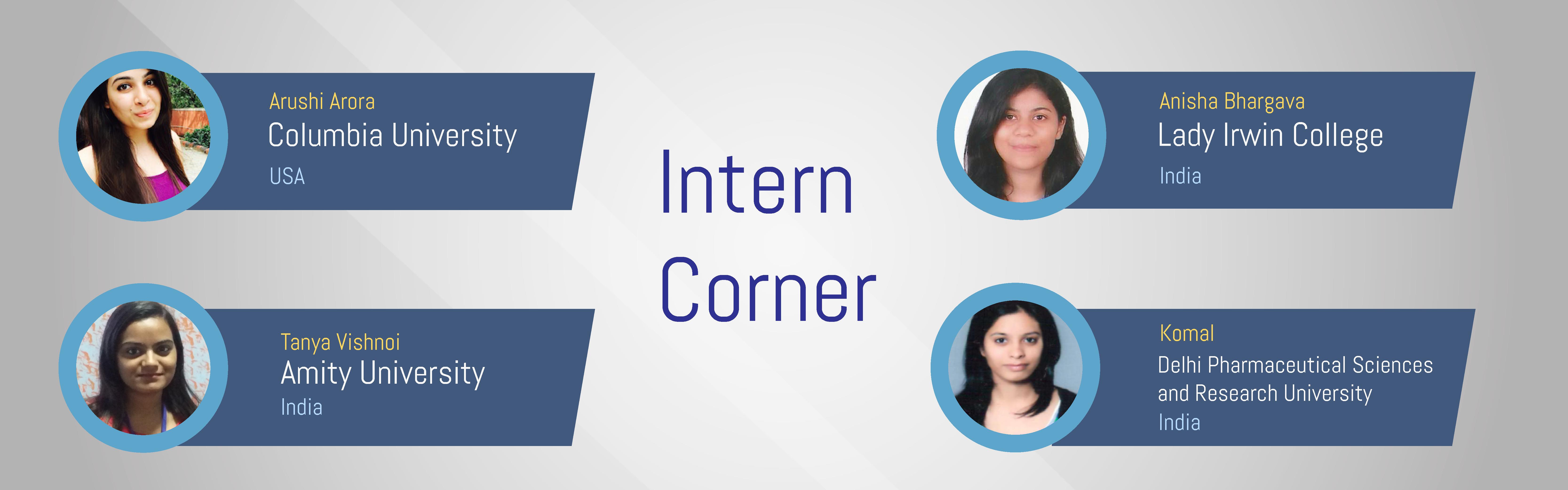 Interns Corner