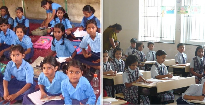 rural and urban education