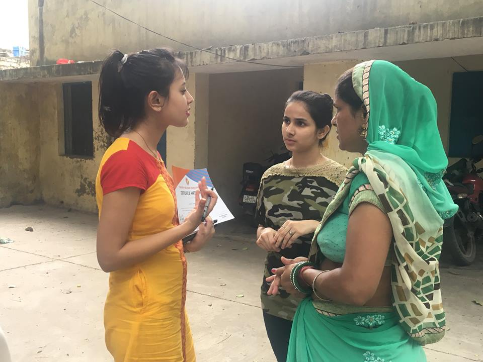 Swasthya Pahal Camp and community Data collection- Successfully accomplished in Urban Slum of Udyog Nagar, peeragarhi, West Delhi. 8 inhabitants of the locality benefitted