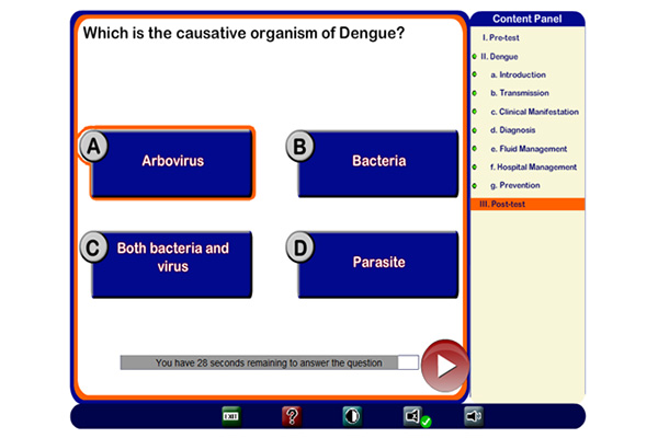FHTS Projects - Interactive bi-lingual Dengue Health Information Platform