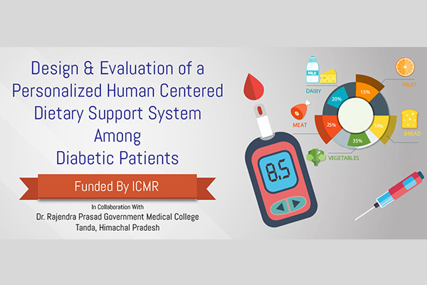 FHTS Projects Design and Evaluation of a Personalized Human Centered Dietary Support System Among Diabetic Patients.
