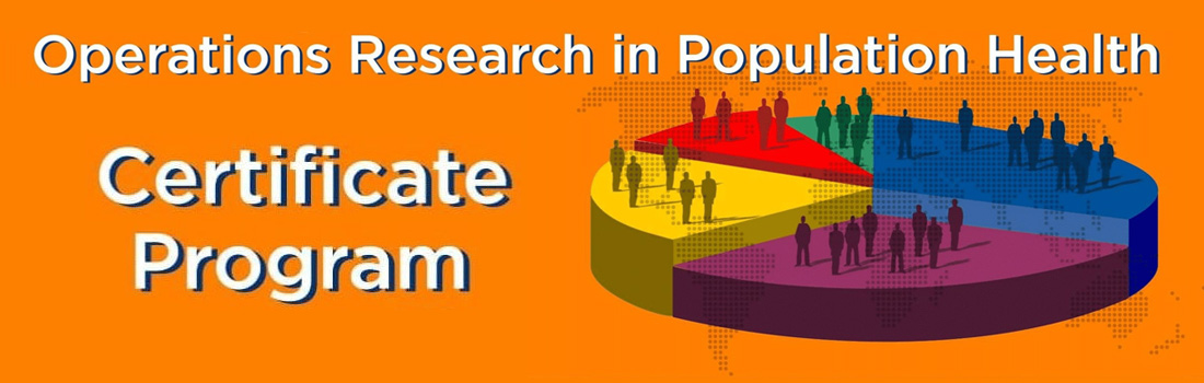 Operations Research in Population Health - Certificate Program